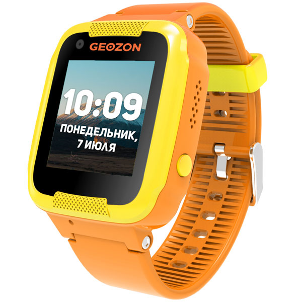 Часы с GPS трекером Geozon Air Orange (G-W02ORN)