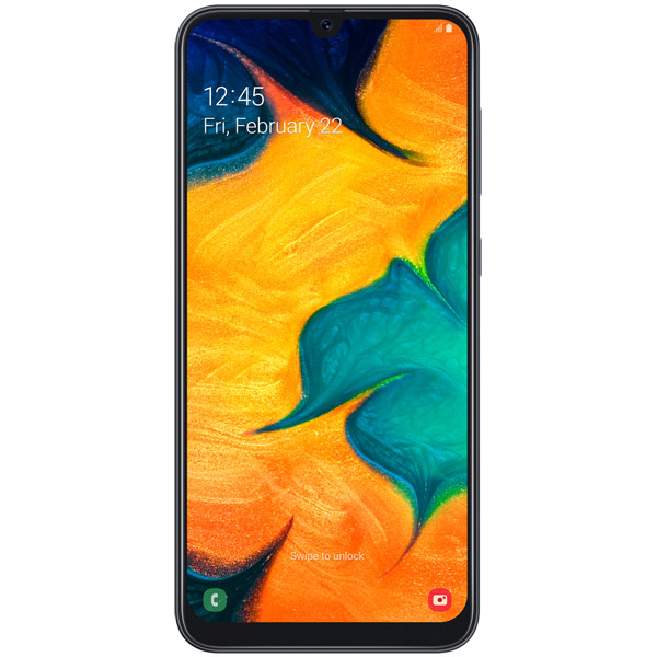 Смартфон Samsung — Galaxy A30 (2019) 32Gb Black (SM-A305FN)