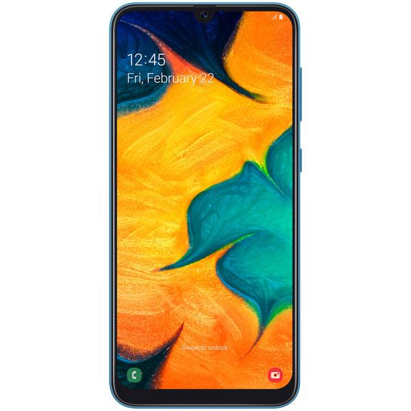 Смартфон Samsung — Galaxy A30 (2019) 32Gb Blue (SM-A305FN)