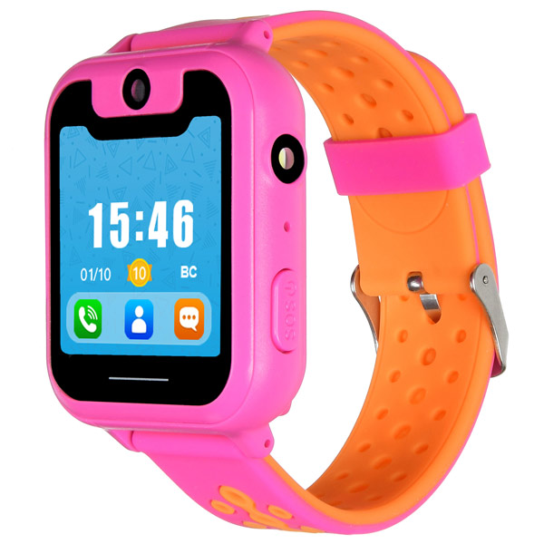 Часы с GPS трекером Digma Kid K7m Pink/Orange