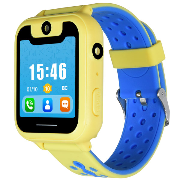 Часы с GPS трекером Digma Kid K7m Yellow/Blue