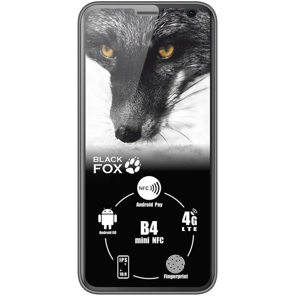Смартфон Black Fox B4 mini NFC Black - характеристики, техническое описание в интернет-магазине М.Видео - Москва - Москва