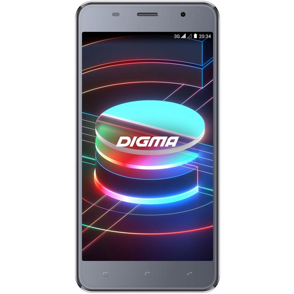 Смартфон Digma Linx X1 3G 16Gb Gray (LS4050MG)