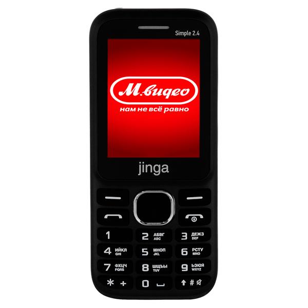 Мобильный телефон Jinga — Simple 2.4 Black