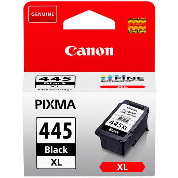 Картридж для струйного принтера Canon PG-445XL черного цвета