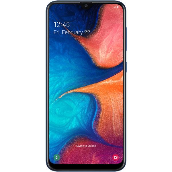 Смартфон Samsung Galaxy A20 32GB Blue (2019)