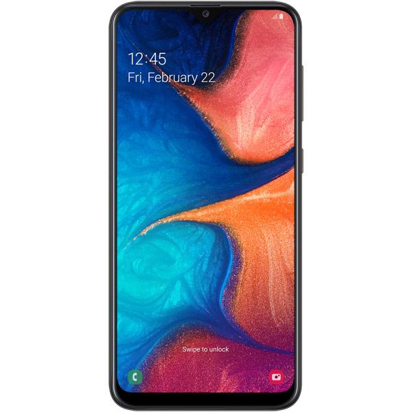 Смартфон Samsung Galaxy A20 32GB Black (2019)