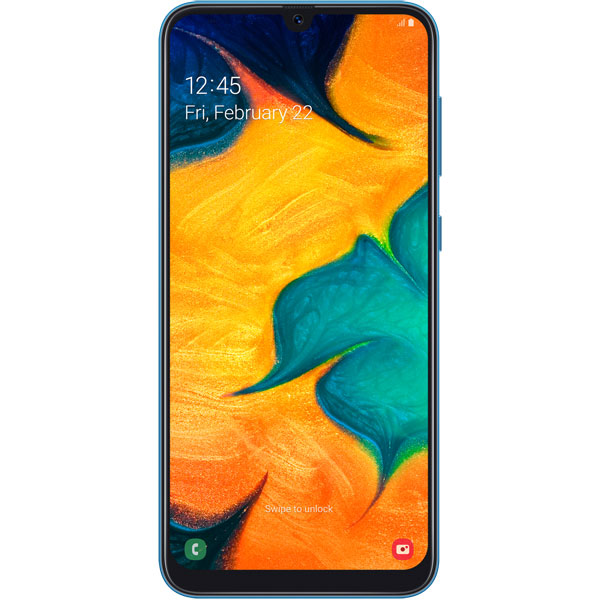 Смартфон Samsung — Galaxy A30 (2019) 64Gb Blue (SM-A305FN)