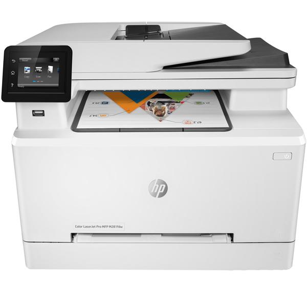 Лазерное МФУ (цветное) HP Color LaserJet Pro M281fdw