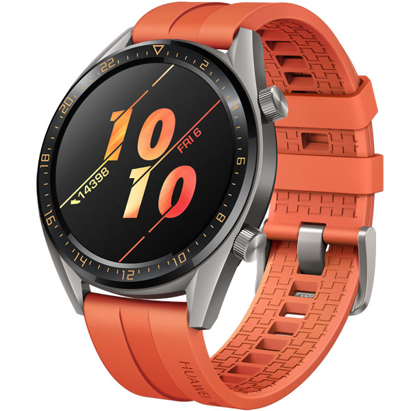 Смарт-часы Huawei Watch GT Active Titanium Grey, рем. Orange