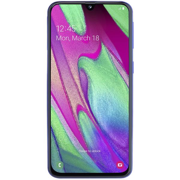 Смартфон Samsung — Galaxy A40 (2019) 64Gb Blue (SM-A405FM)