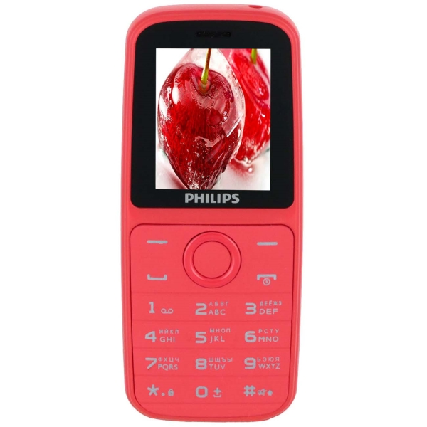 Мобильный телефон Philips — Xenium E109 Red
