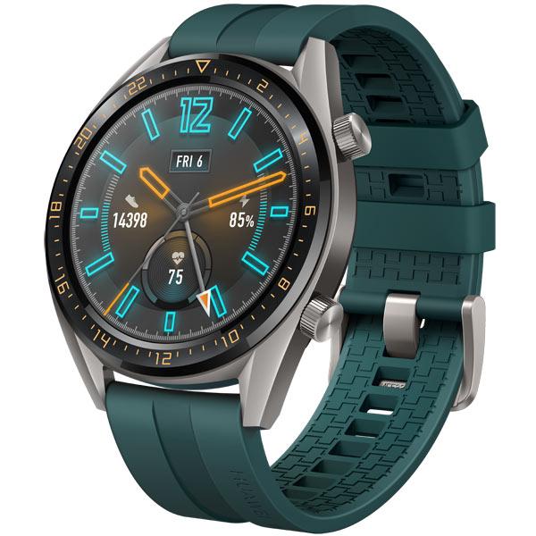6bdbef7ebc7ad Купить Смарт-часы Huawei Watch GT Active Titanium Grey, рем. Dark ...