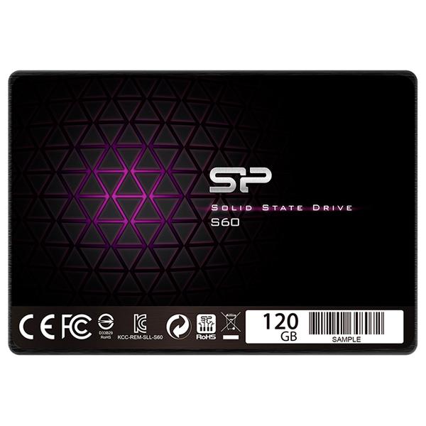 Внутренний SSD накопитель Silicon Power 120GB S60 (SP120GBSS3S60S25)