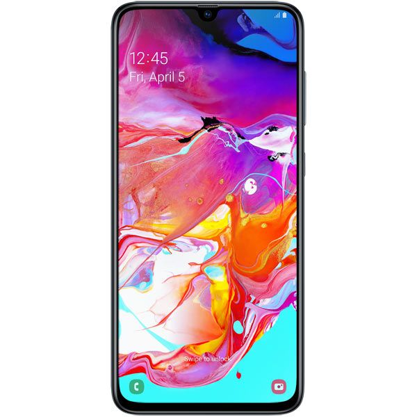 Смартфон Samsung Galaxy A70 (2019) 128Gb Black (SM-A705FN)