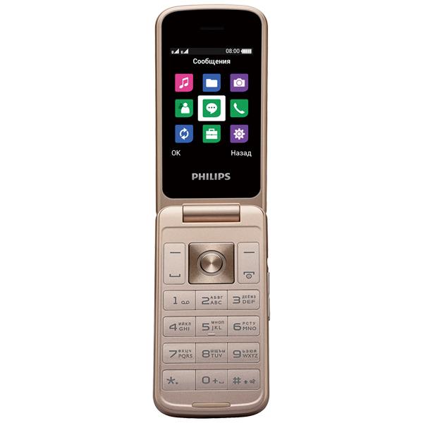 Мобильный телефон Philips — Xenium E255 Black