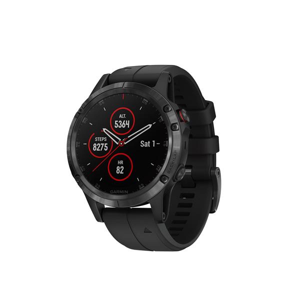 Спортивные часы Garmin Fenix 5 Plus Sapphire Black GPS