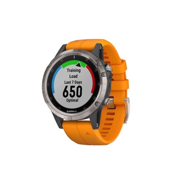 Спортивные часы Garmin Fenix 5 Plus Sapphire Titanium GPS