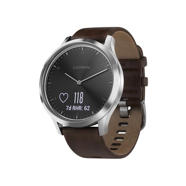Спортивные часы Garmin Vivomove HR Premium Black/Silver L