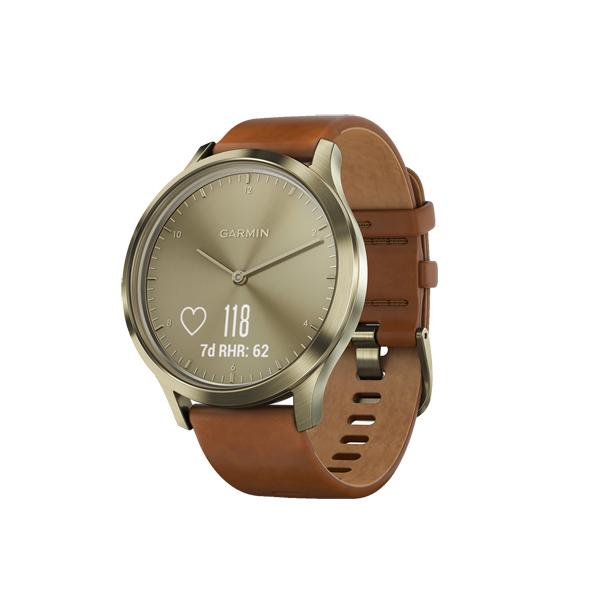 Спортивные часы Garmin Vivomove HR Premium Gold/Gold S/M