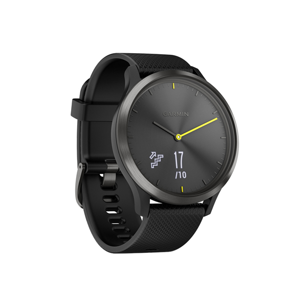 Спортивные часы Garmin Vivomove HR Sport Black/Black L