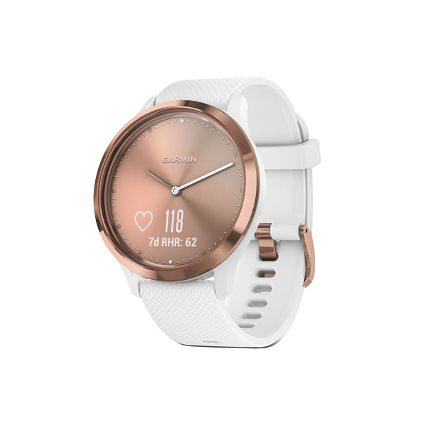 Спортивные часы Garmin Vivomove HR Sport Rose Gold S/M