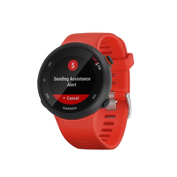 Спортивные часы Garmin Forerunner 45 GPS L Lava Red