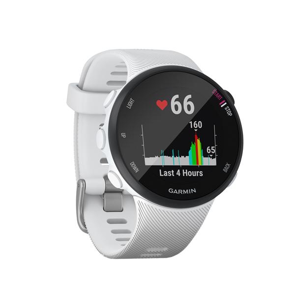 Спортивные часы Garmin Forerunner 45 GPS S White