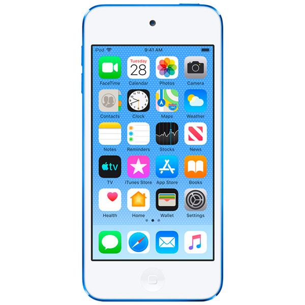 Плеер MP3 Apple — iPod Touch 128Gb Blue (MVJ32RU/A)