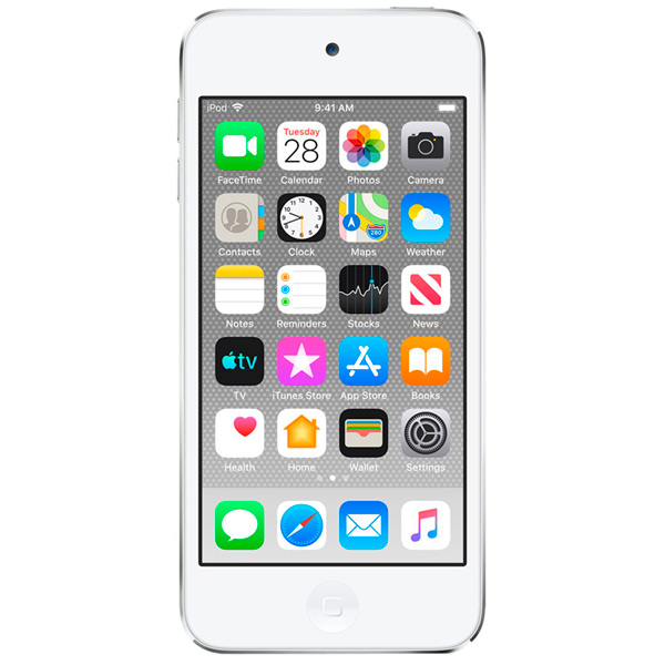 Плеер MP3 Apple — iPod Touch 128Gb Silver (MVJ52RU/A)