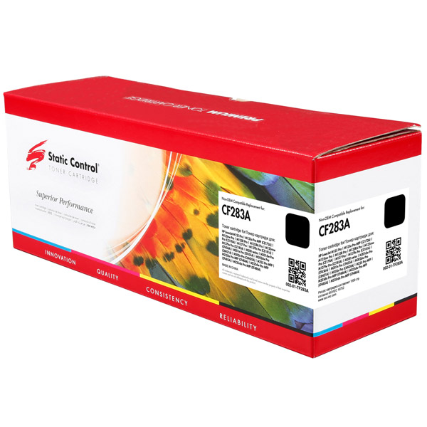 Картридж для лазерного принтера Static Control CF283A Black (002-01-TF283A)