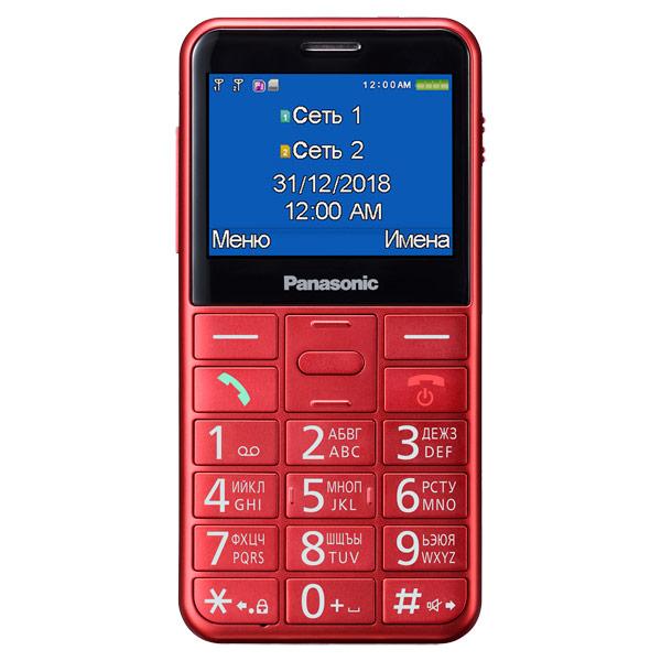 Мобильный телефон Panasonic KX-TU150 Red