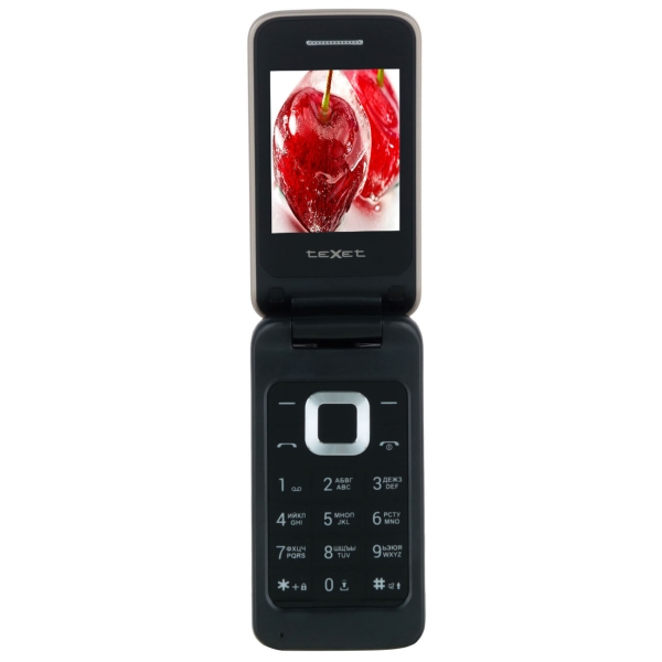 Мобильный телефон teXet — TM-204 Champagne