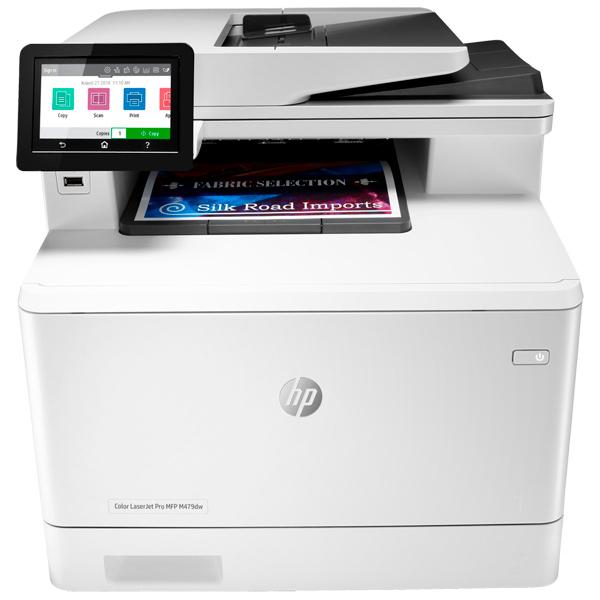 Лазерное МФУ (цветное) HP Color LaserJet Pro M479dw (W1A77A) - характеристики, техническое описание в интернет-магазине М.Видео - Сургут - Сургут