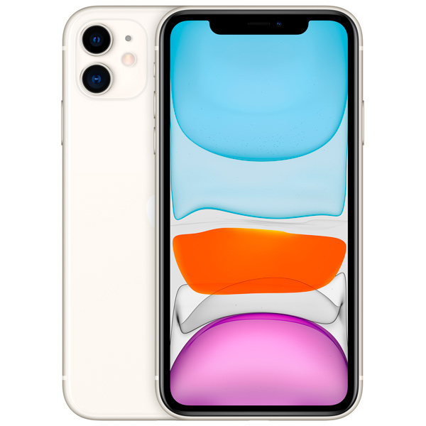 Смартфон Apple — iPhone 11 128GB White (MWM22RU/A)