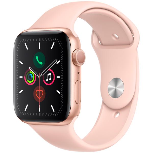 Смарт-часы Apple Watch S5 44mm Gold Sport Band (MWVE2RU/A)