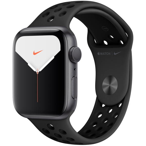 Смарт-часы Apple Watch S5 Nike+ 44mm SpGrey Sport Band (MX3W2RU/A)