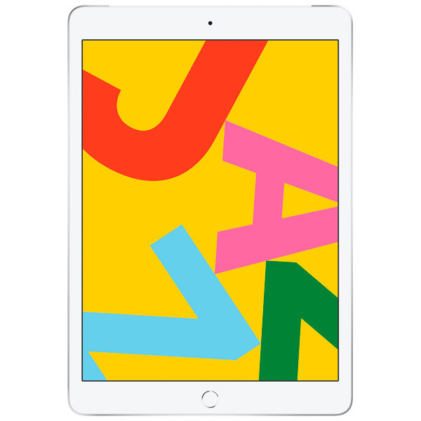 "Планшет Apple — iPad 10.2"" 32Gb Wi-Fi+Cellular Silver (MW6C2RU/A)"