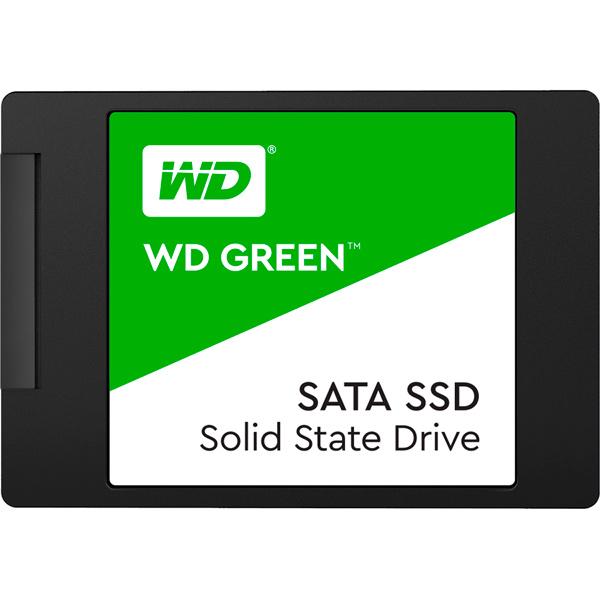 Внутренний SSD накопитель WD — 480GB Green 3D NAND (WDS480G2G0A)