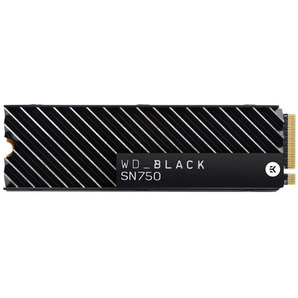 Внутренний SSD накопитель WD 500GB Black SN750 NVMe(WDS500G3XHC)