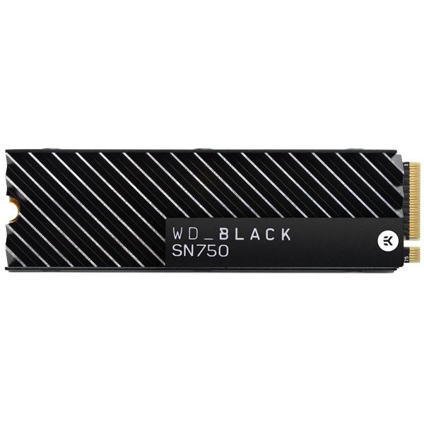 Внутренний SSD накопитель WD 1TB Black SN750 NVMe (WDS100T3XHC)