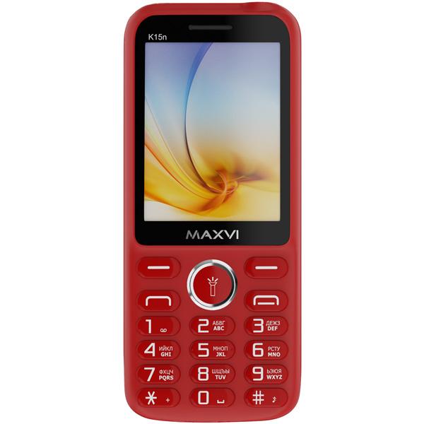 Мобильный телефон Maxvi — K15n Red