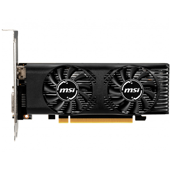 Видеокарта MSI GeForce GTX 1650 4GT LP OC