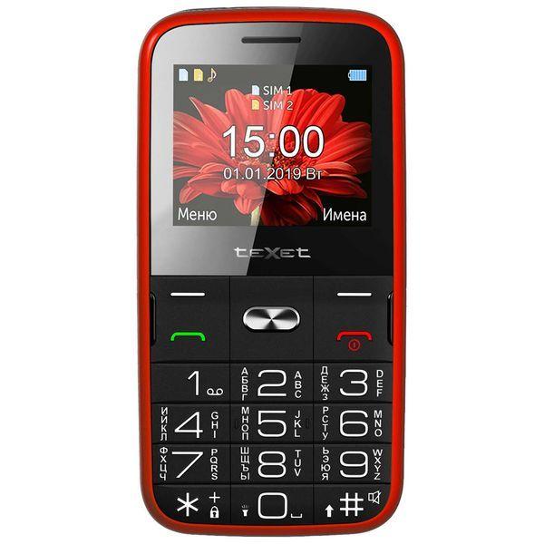 Мобильный телефон teXet — TM-B227 Red