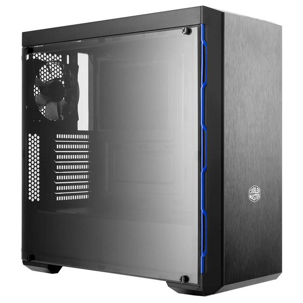 Корпус для компьютера Cooler Master MasterBox MB600L w/ODD, Blue Trims