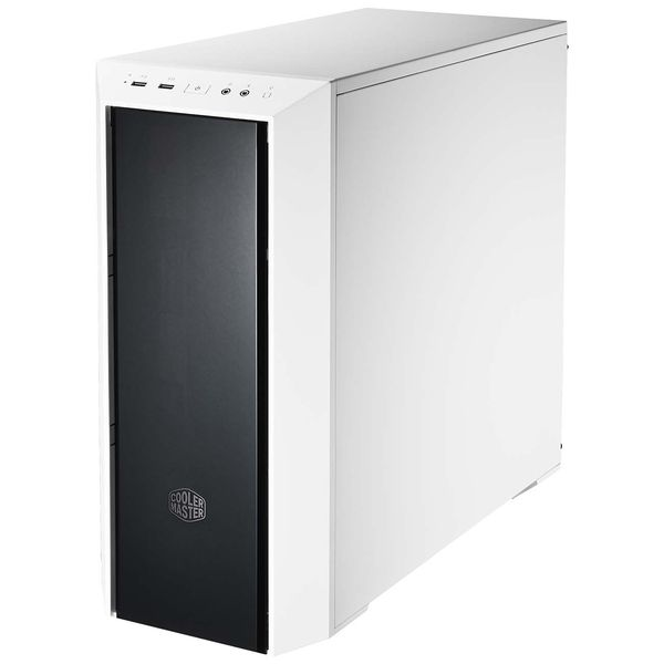 Корпус для компьютера Cooler Master MasterBox 5 White with Dark Mirror Front Panel
