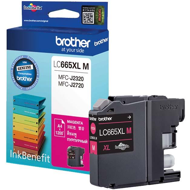 Картридж для струйного принтера Brother — LC665XLM