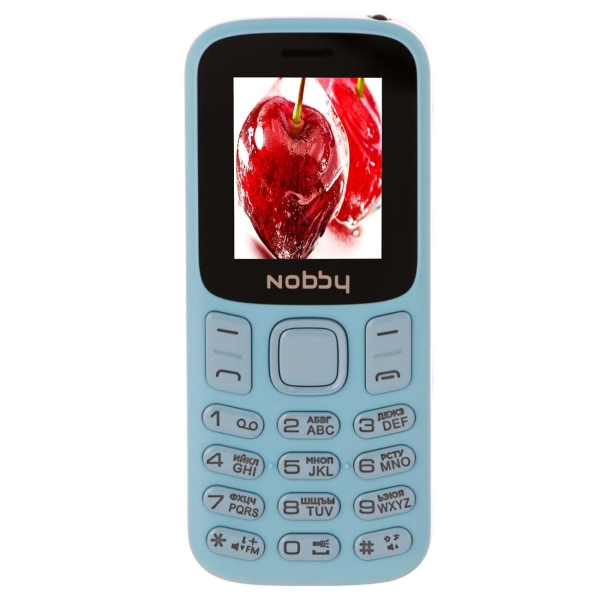 Мобильный телефон Nobby — 120 Light Blue