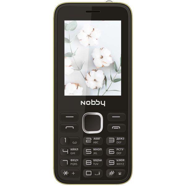 Мобильный телефон Nobby — 221 Black/Yellow