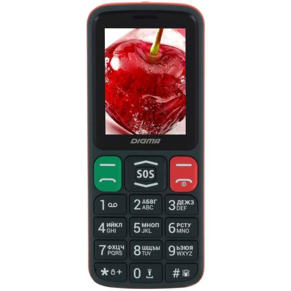 Мобильный телефон Digma Linx S240 Grey/Orange (LT2060PM)